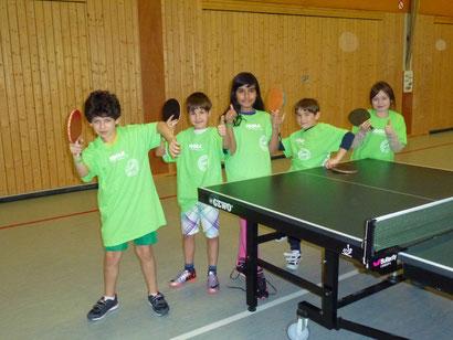 Das Gewinner-Team der Klasse 3a