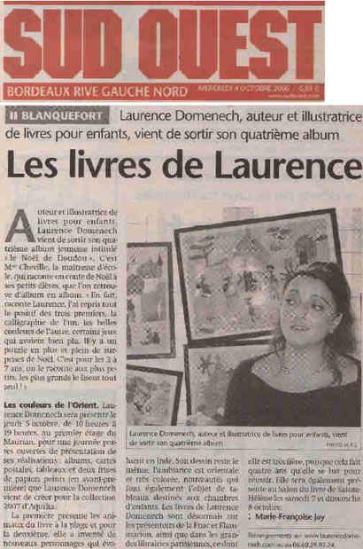 Journal Sud-Ouest 04.10.2006