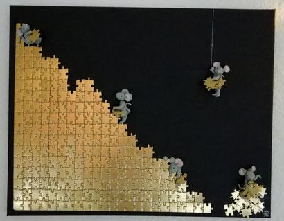 Toile (0cm x 70cm - Une envie de puzzle