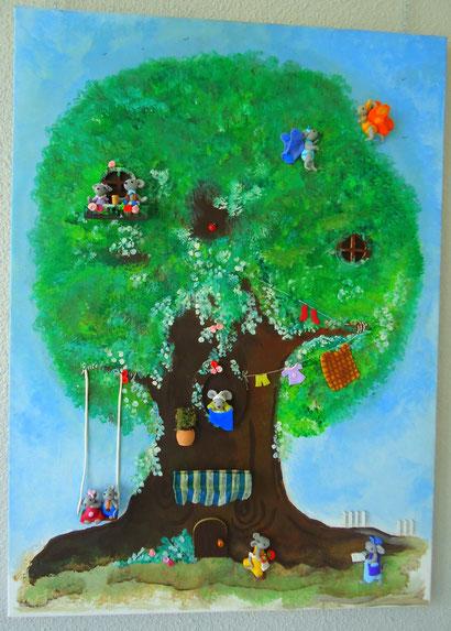 La famille dans l'arbre