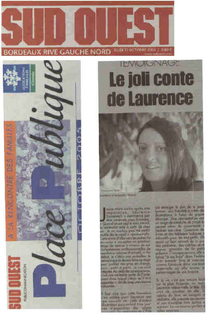 Journal Sud-Ouest 13.10.2005