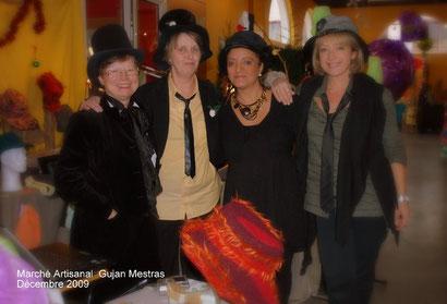 2009 - Marché Artisanal de Noël à Gujan-Mestras avec les copines créatrices