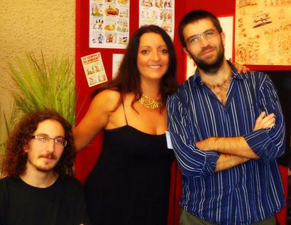 Simon & Rémi - Salon du livre de St Estèphe 2012