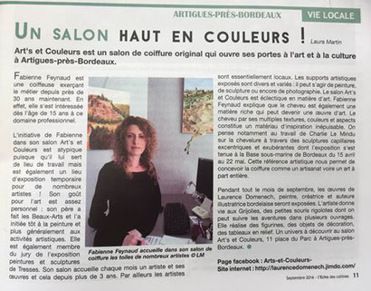 Journal l'echo des collines - 3 septembre 2016