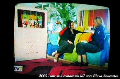 TV7 - Contact avec Olivia Lancaster