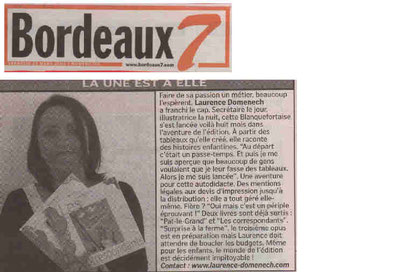 Journal Bordeaux7 25.03.2005
