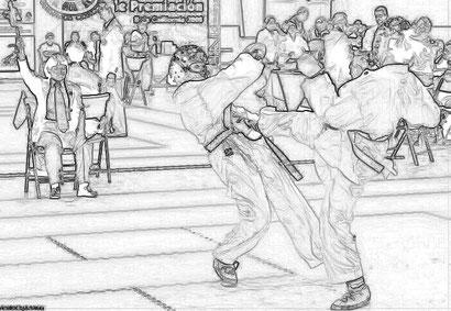 Ippon (一本) es un término japonés utilizado en arte marciales de ese país Judo, Karate y otras. Es una expresion, empleada en campeonatos,(equivalente a un punto, con matices de estilos; sea bien Karate Shobu Ippon, o Sambon Ippon; o Judo)