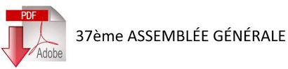 Compte rendu 37ème Assemblée Générale