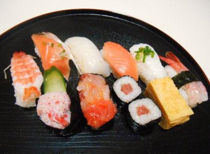 チラシの載せるお寿司の写真