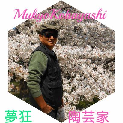 小林夢狂 MukyoKobayashi  陶芸家
