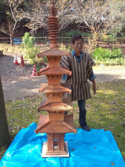 復元古代窯窯だし 小林夢狂 Mukyokobayashi  あおい夢工房 炎と楽園のアート