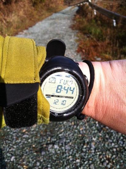 今年に入り3回目の工石山。 とくに好きってわけじゃないけどアクセスがいいからね、。 で、昨日はトレーニングがてら行ってみるかと、。8時44分スタート!