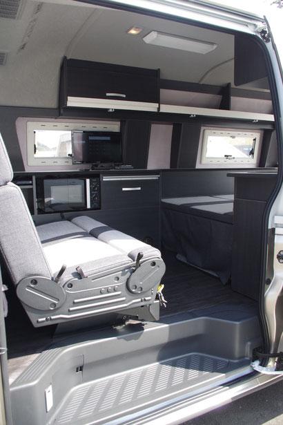 キャンピングカー、トランポ製作は、OSPトランポキットへ!