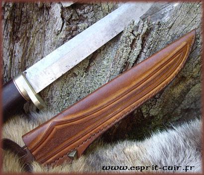 Etui pour dague de chasse