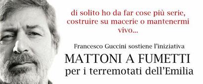 Il grande Francesco Guccini testimonia l'amore per la sua terra e la sua gente, e anche la sua passione per i fumetti collaborando con noi. GRAZIE GUCCIO!!!