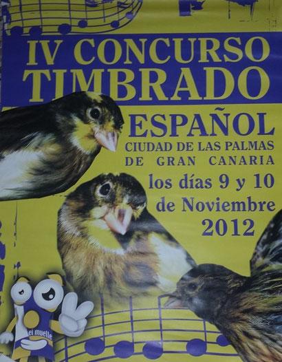 Cartel Concurso 2012.