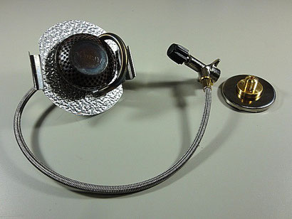 トランギア ストームクッカー用ガスバーナーは国内未販売品。自己責任で使用。