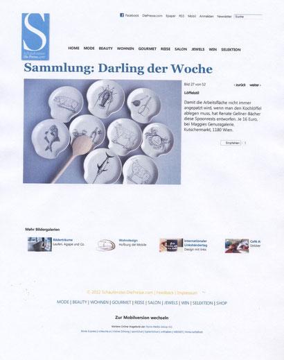 Schaufenster.Die Presse.com Nov 2012
