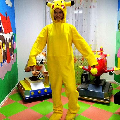 Аниматор Покемон Го на детский праздник и день рождения ребенка Москва