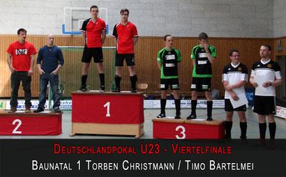 Deutschlandpokal U23 1/4-Finale 2013 - Gr. 3 in Ginsheim