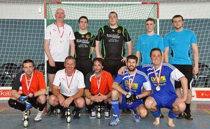 Gruppenbild Aufstiegsrunde zur Oberliga