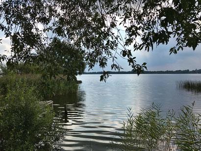 Offene Wasserfläche als Symbol für Hochsensibilität