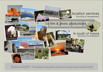 reperages de lieux de tournage- location scouting -  Provence -Occitanie -South of France -film- photo-shooting