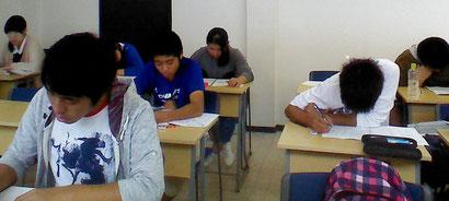 河原塾いわき校は、朝勉だ!