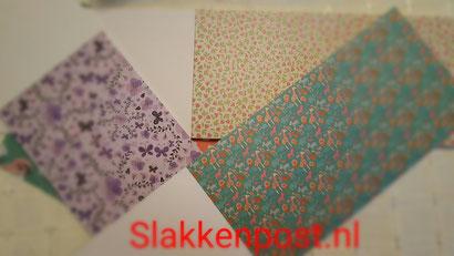 patronen papier slakkenpost
