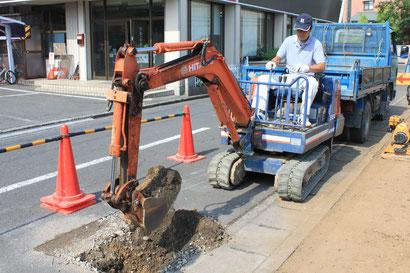 香川で造成工事に必要な給水工事