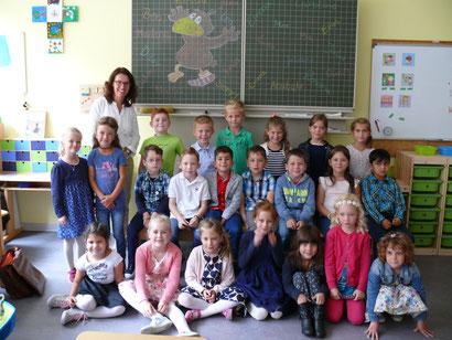 Klasse 1a - Rabenklasse - Klassenlehrerin: Frau Schmitz