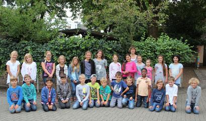 Klasse 4b - Klassenlehrerin Frau Schneider