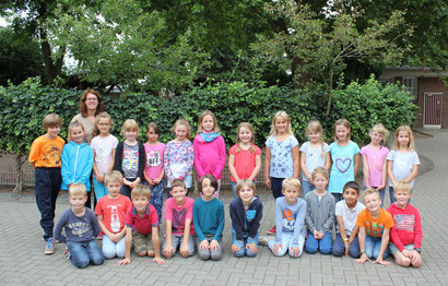 Klasse 3b - Klassenlehrerin Frau Schmitz