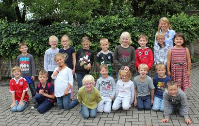 Klasse 2a - Klassenlehrerin Frau Wagener