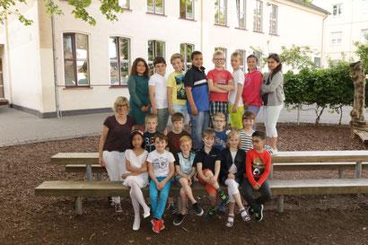 Klasse 4b  - Klassenlehrerin Frau Küppers