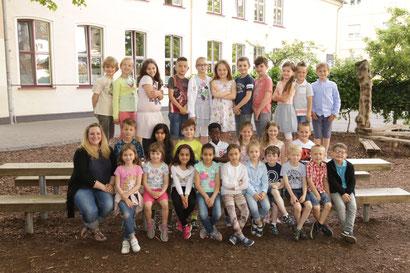 Klasse 2b - Klassenlehrerin Wiebke Scholten