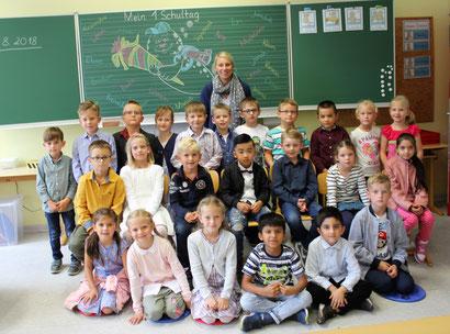 Klasse 1 a - Klassenlehrerin Nicole van Hees