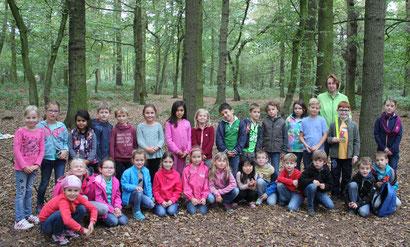 Klassenfoto vom 18.09.2016 - Waldtag