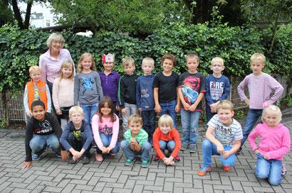 Klasse 2b - Klassenlehrerin Frau Küppers