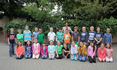 Klasse 4a - Klassenlehrerin Frau Uguzes-van Bömmel