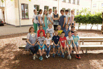 Klasse 4a  - Klassenlehrerin Frau Schneider