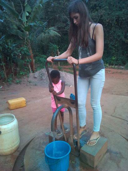 Aina à la pompe (forage)