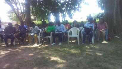journée de formation aux camps chantiers organisée par France Volontaire Togo à Kpalimé