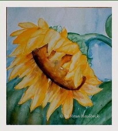 aquarell kaufen, kunst kaufen, bild kaufen, aquarell, sonnenblumenaquarell, sonnenblumen,sonne,blumenbild,blumen , bild, handgemalt, gelb, kunst, bild, wanddekoration, dekoration, wandbild, art, malen, malerei