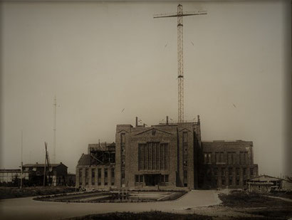 Telefunken Nauen bei Berlin 1920