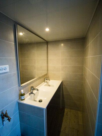 salle de bain privée pour la yourte