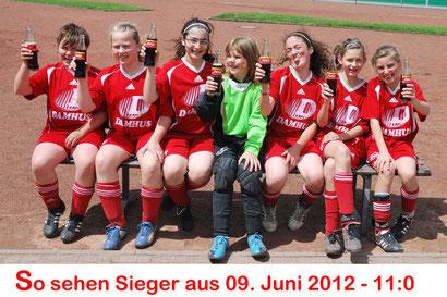 Die U13-Mädchen