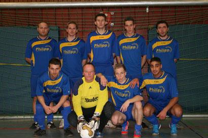 Mannschaftsfoto von der Hallenstadtmeisterschaft.