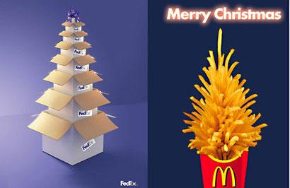 рождественские бренды