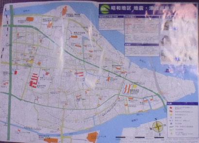 地震・津波避難支援マップ